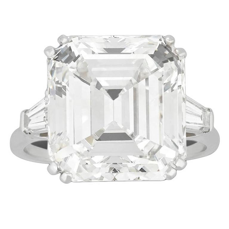 Harry Winston Diamond Ring 13.24 Carats 1