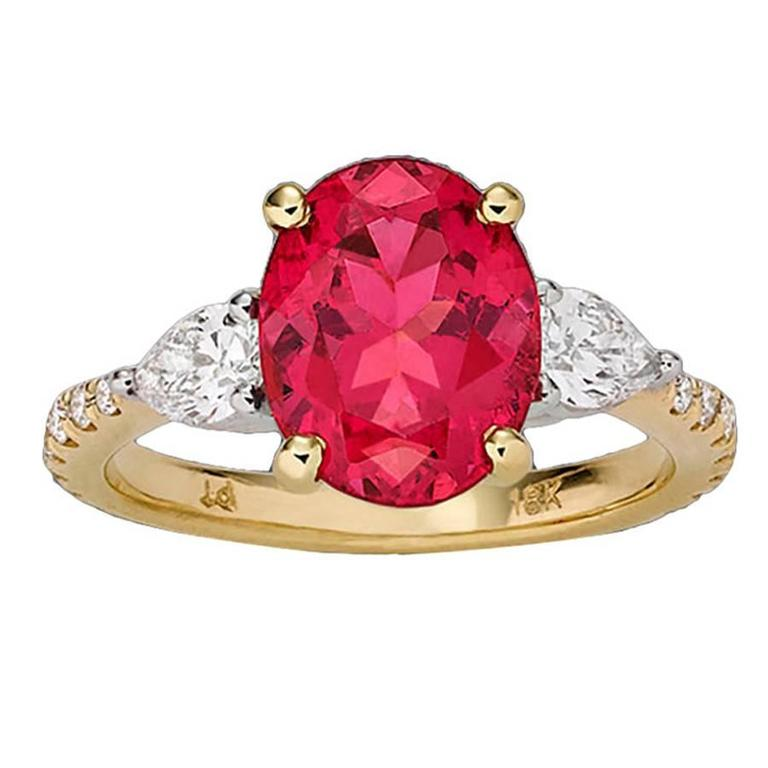 Pink Spinel Ring 3.39 Cararts 1
