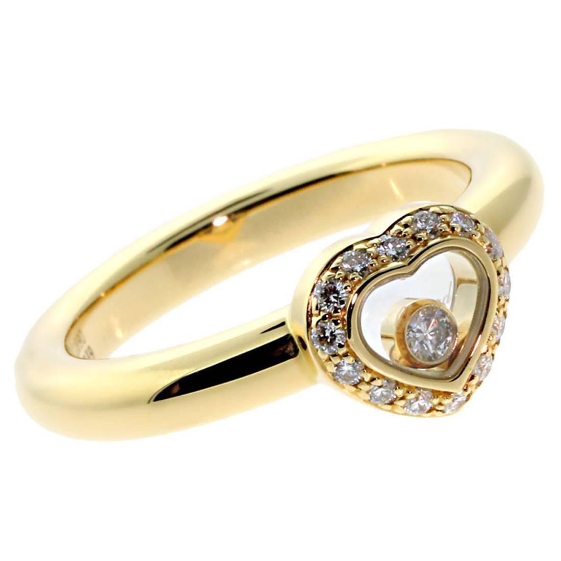 chopard happy gold ring at 1stdibs