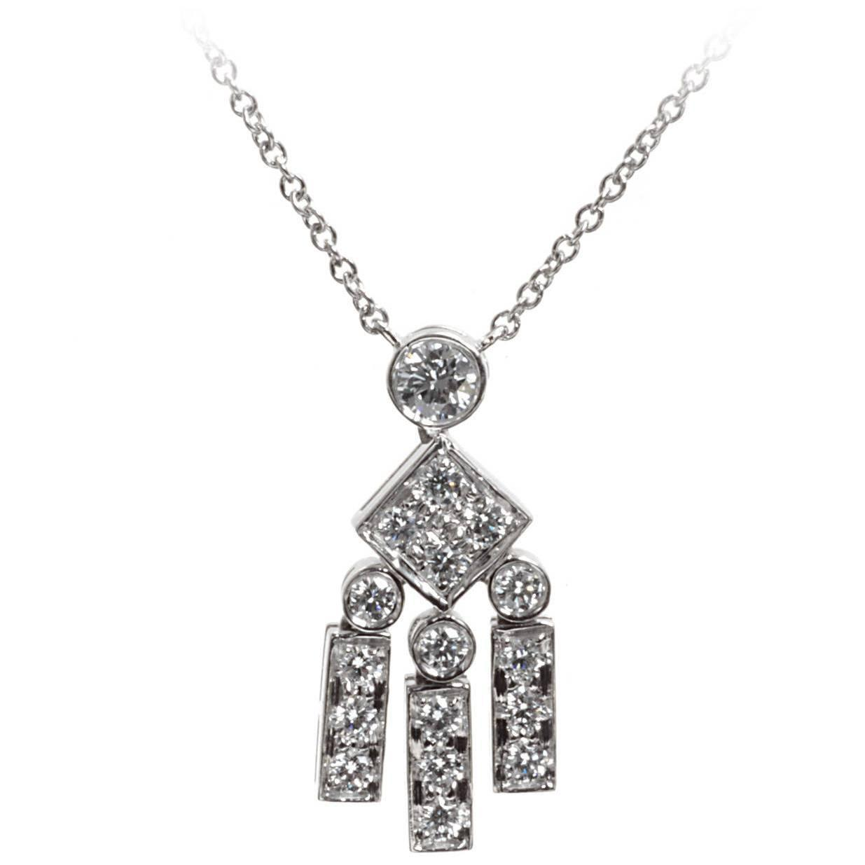 j and co jewelry and co legacy platinum necklace at 1stdibs 7441