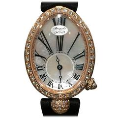 Breguet Lady's Rose Gold Reine de Naples Wristwatch Ref 8928BR/51/844.DD0D