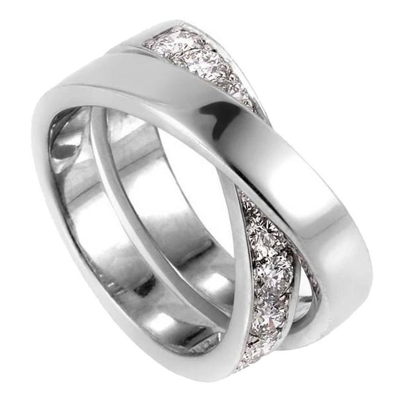 Cartier Paris Nouvelle Vague Diamond Gold Ring
