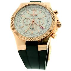 Breitling Bentley Rose Gold GMT Wristwatch