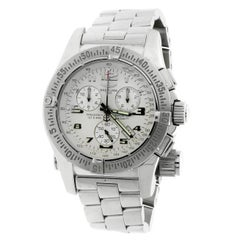 Breitling Stainless Steel Emergency Superquartz Wristwatch