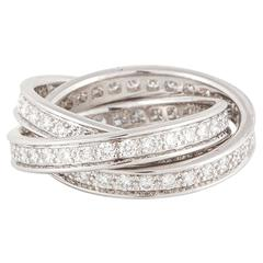 Cartier Trinity Diamond Ring