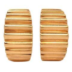 Tiffany & Co. Gold Clip Earrings