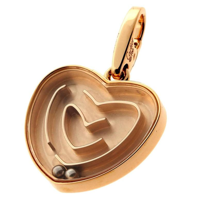 Cartier Labyrinth Gold Pendant 1