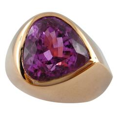 Jona Heart Shaped Kunzite Rose Gold Ring