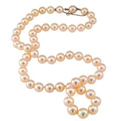 1960s Cultured Pearl Necklace