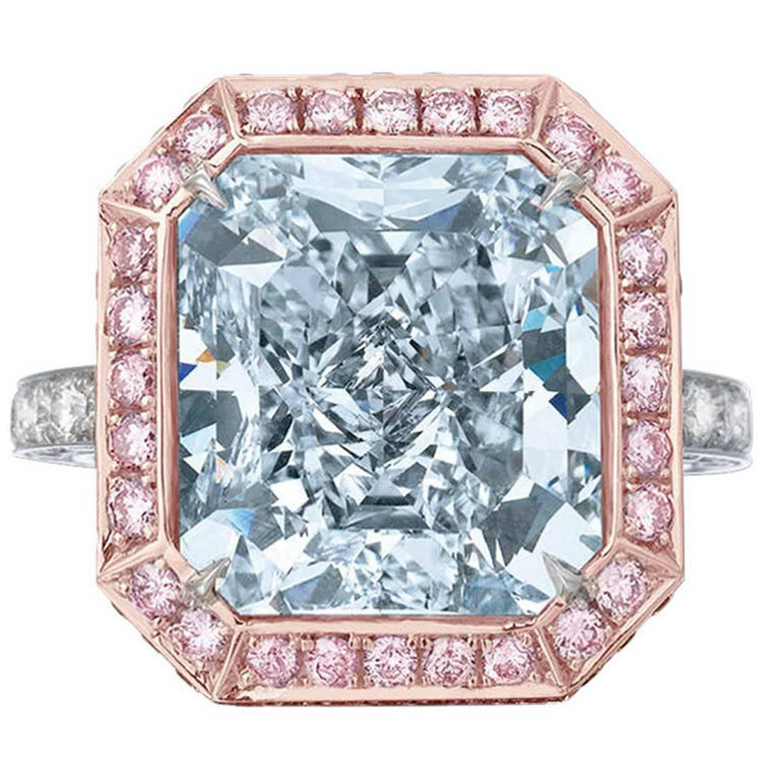 The Royal Blue Diamond 10.06 Carats 1