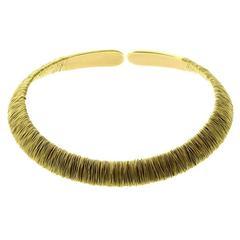 Pasquale Bruni Gold Choker Necklace