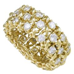 TIFFANY & CO. Diamond Gold Ring