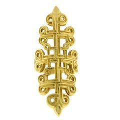 Ilias Lalaounis Gold Ring