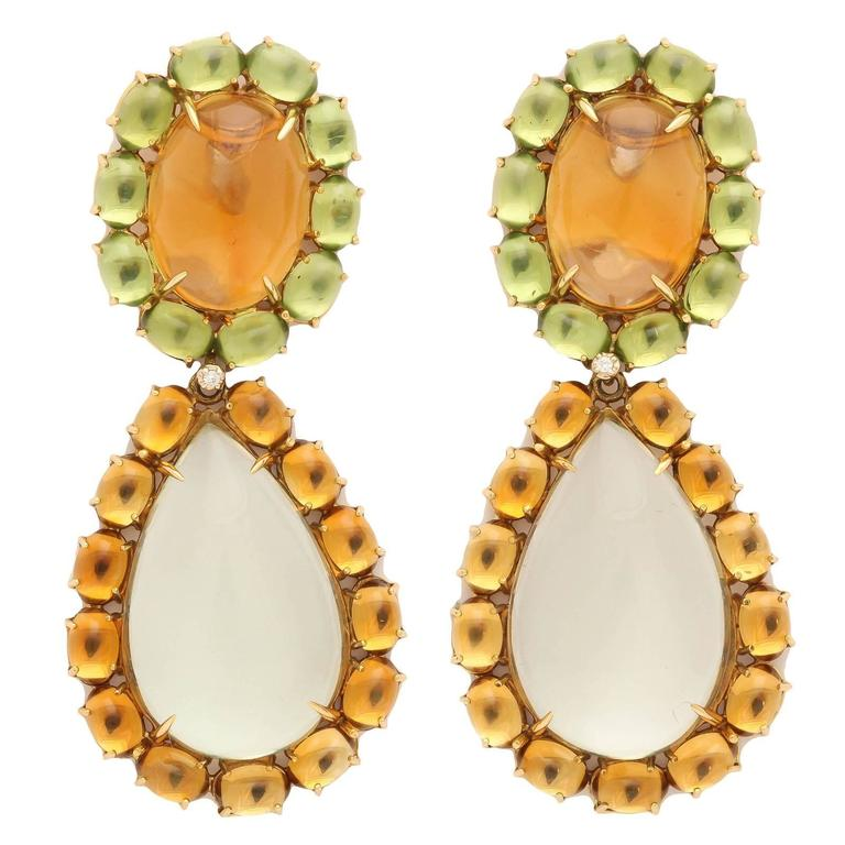 Faraone Mennella Couture Drop Earrings