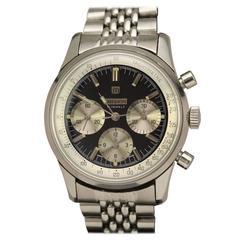 Million Stainless Steel Chronograph Wristwatch, circa 1960s