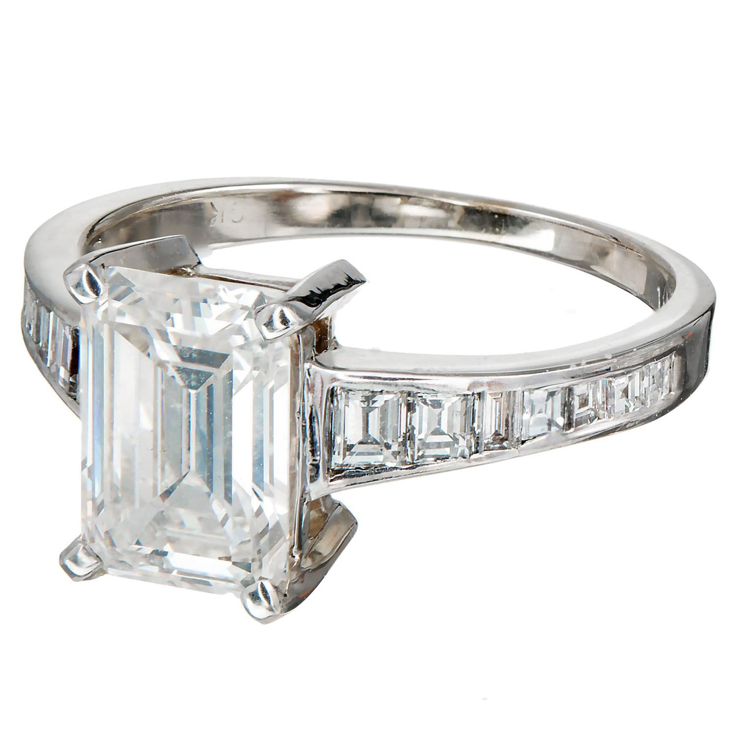 100 white gold vs platinum engagement wedding rings