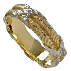 Mario Buccellati Two Color Gold Ring