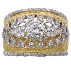 Mario Buccelatti Diamond Band Ring