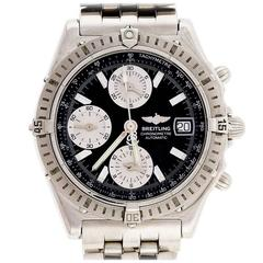 Breitling Stainless Steel Automatic Chronograph Wristwatch Ref A13352