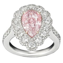 2.58 Carat Pink Diamond Ring