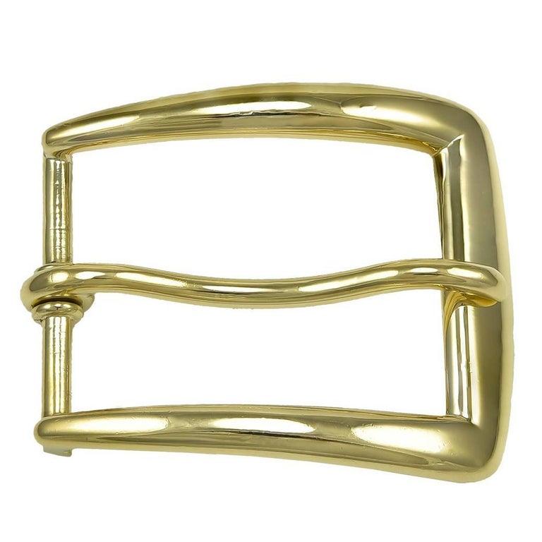 Cartier Gold Belt Buckle For Sale