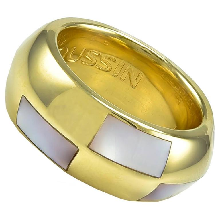 Mauboussin Paris Mother-of-Pearl Gold Ring
