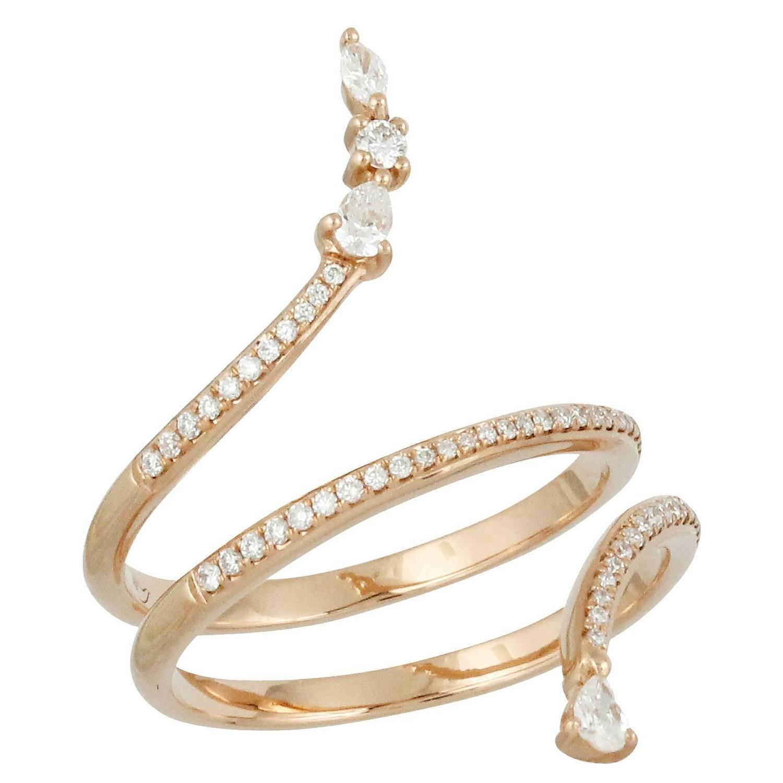 gold serpent ring at 1stdibs