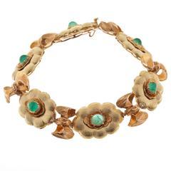 Buccellati Emerald and Diamond Bracelet