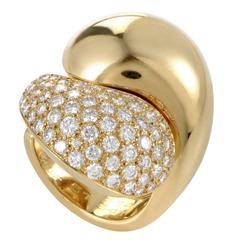 Cartier Le Yin et Le Yang Diamond Gold Ring