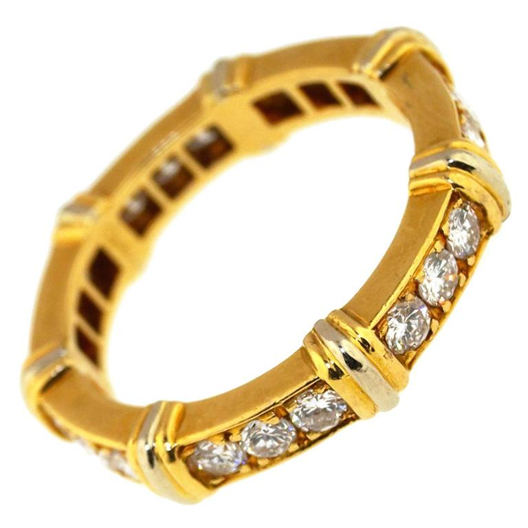 Vintage Cartier Diamond Band Ring