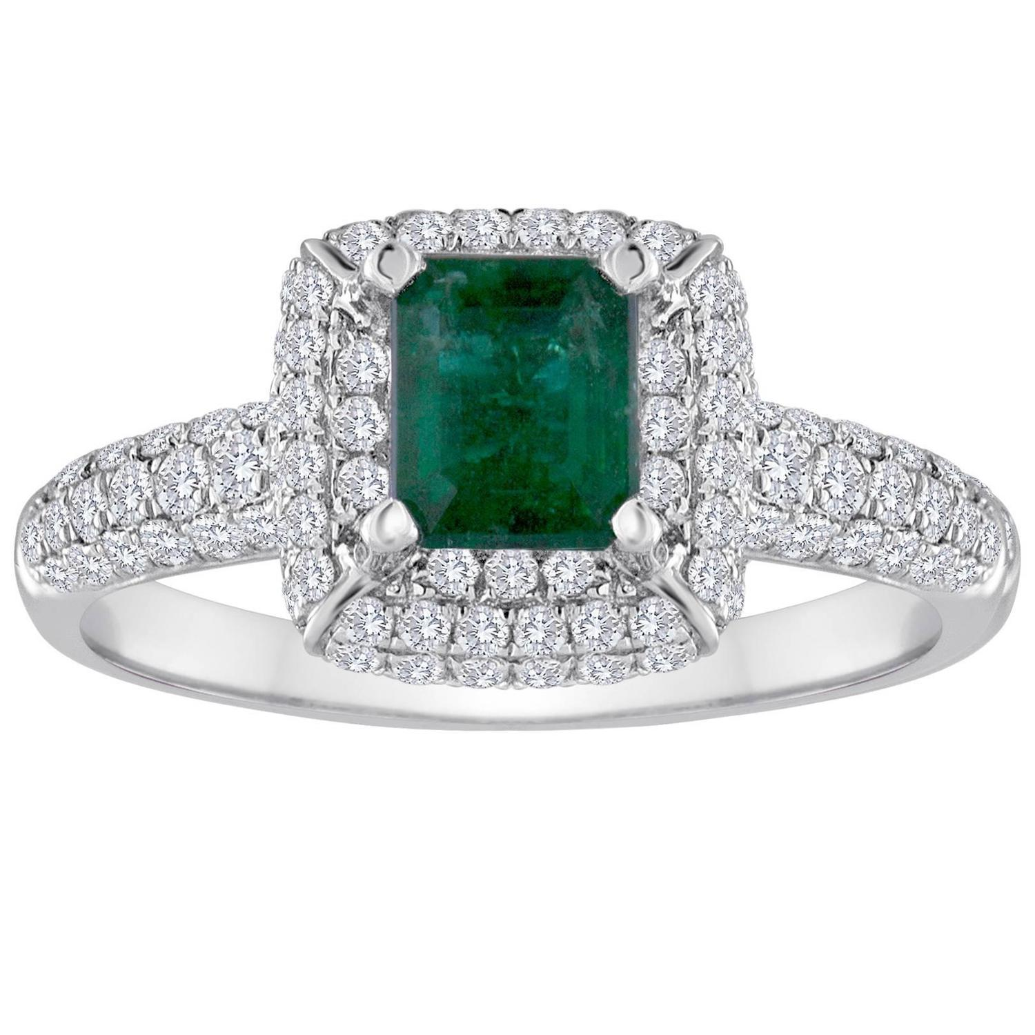 and cushion cut an mint costagli paolo buy products gold white diamond eternita ring emerald tourmaline