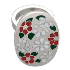 Georg Jensen Sterling Silver Modernist Ring Designed by Astrid Fog No.165