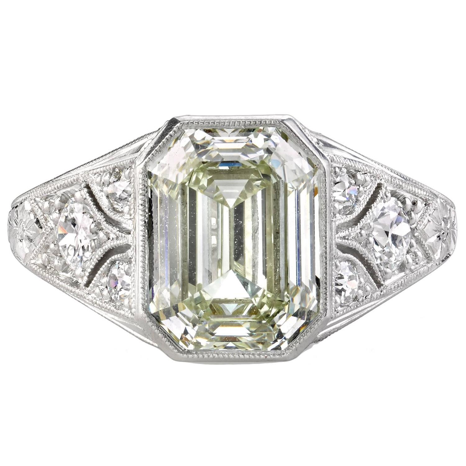 Best Of 3 Carat Emerald Cut Diamond