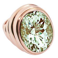 Colleen B. Rosenblat beryl gold cocktail ring