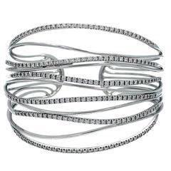 Georgios Diamond Cuff Bracelet