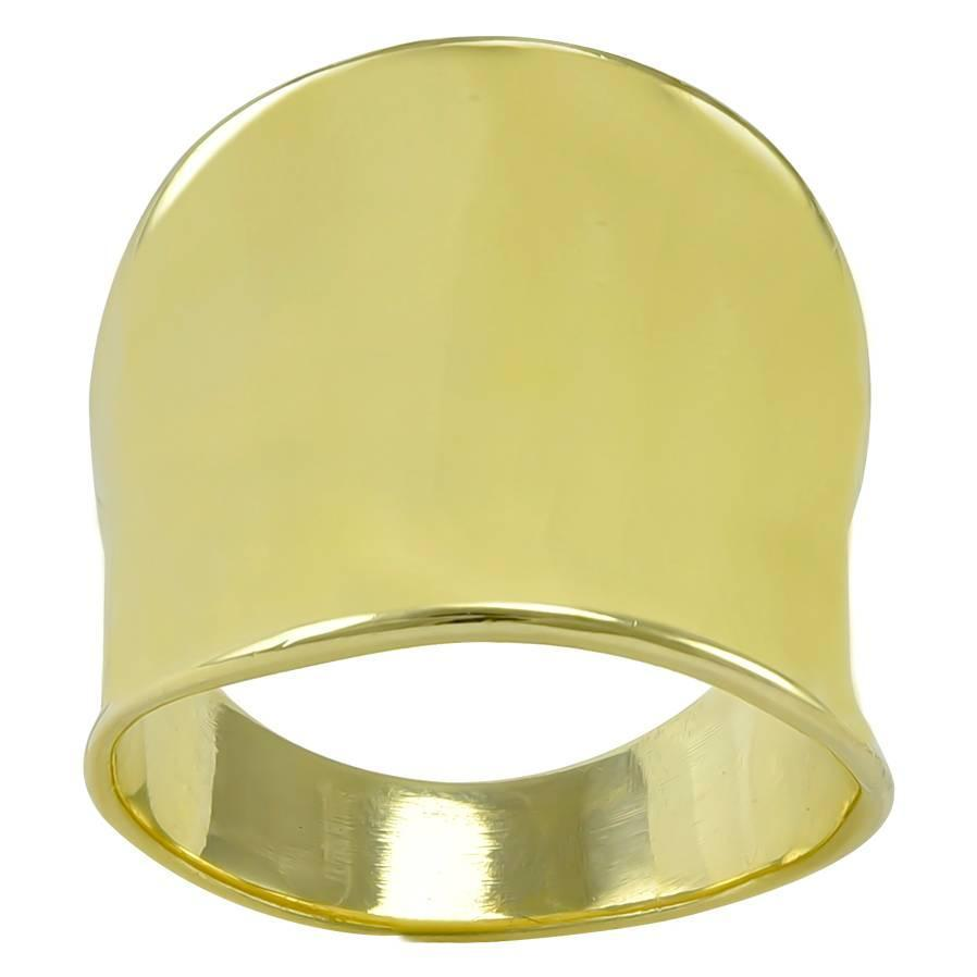 wide sculptured gold band ring at 1stdibs