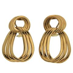 Glamour links earrings