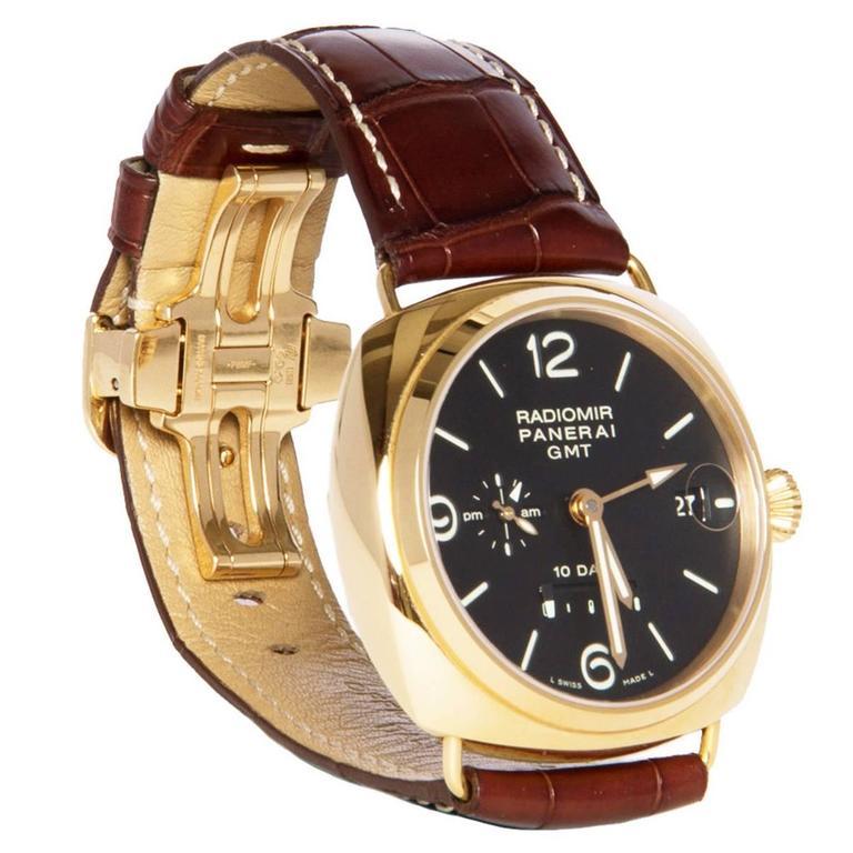 Officine Panerai Special Series Rose Gold Watch 1