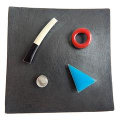 Modernist Studio Brooch by Robin Quigley, 1982