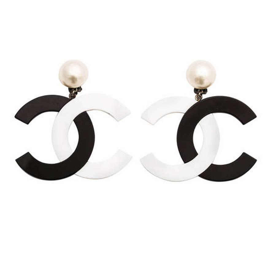 white hoop new and double black pinkpowder onyx com earrings