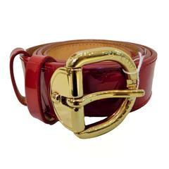 Louis Vuitton Red Belt