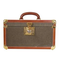 Vintage GUCCI Toiletry Case Travel Trunk Rare