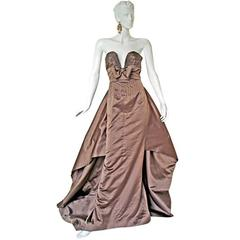 Valentino Hi Impact Entrance Column Runway Ball Gown
