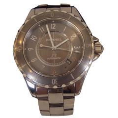Chanel Titanium Ceramic J12 Classic Chromatic Automatic Wristwatch