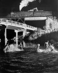 Hawkbill Creek Swimming Hole. Luray, Virginia 1956