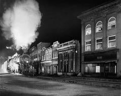 Main Line on Main Street. North Fork, West Virginia.
