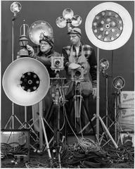 Link and George Thom with Link's Flash Equipment