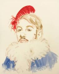 "Henri de Toulouse-Lautrec from the series ""Drag"""