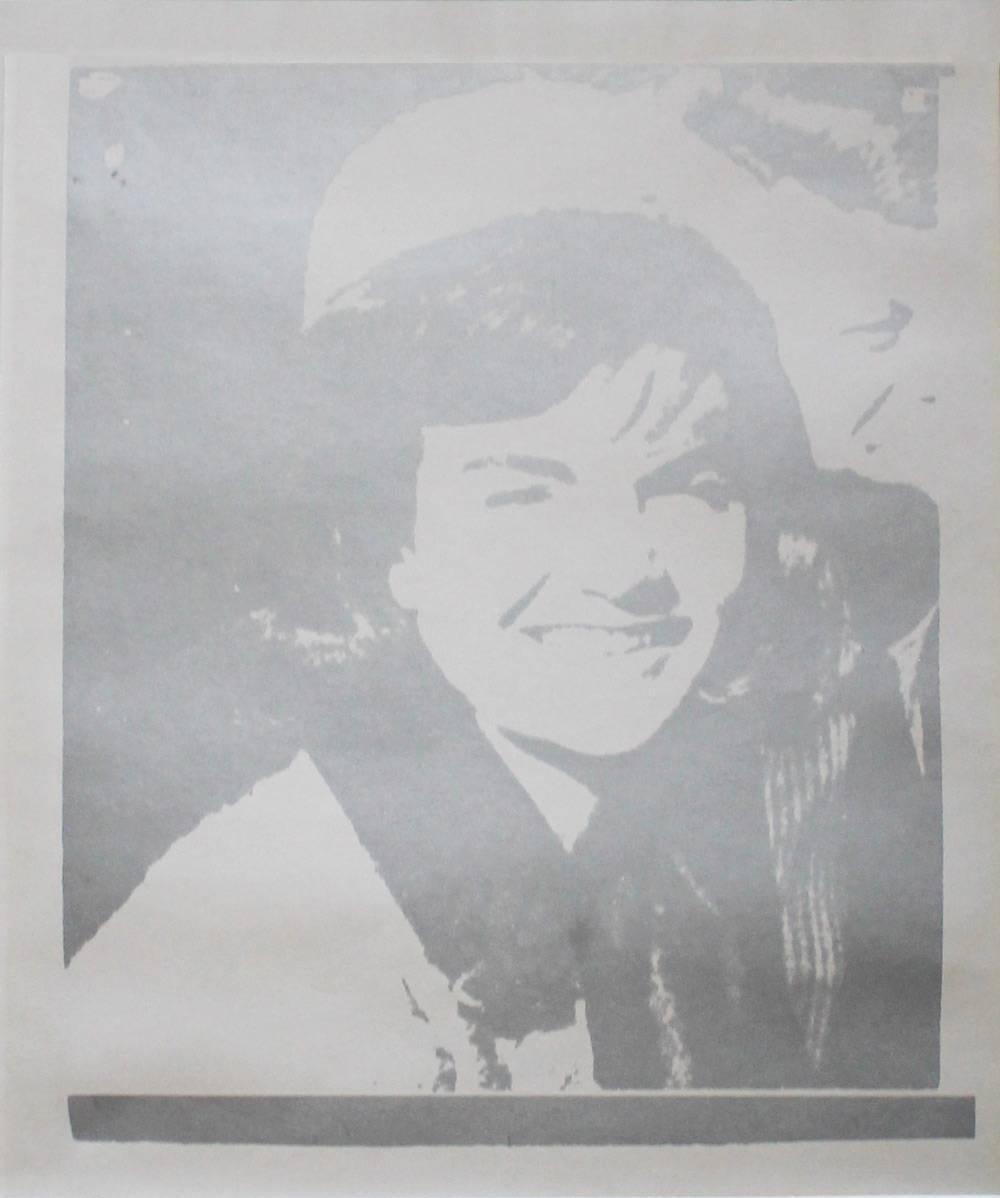 Jackie Kennedy I by Andy Warhol