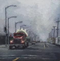 Fog on Illinois Street